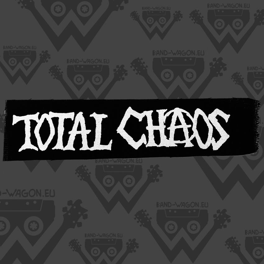 Total Chaos Logo Big Patch Bandwagon