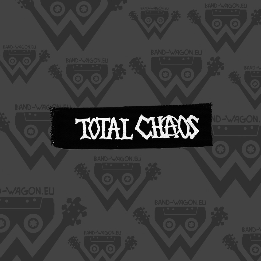 Total Chaos Logo Small Patch Bandwagon