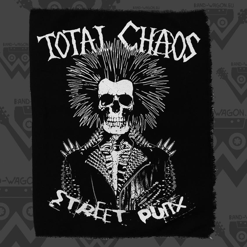 Total Chaos Street Punx Back Patch Bandwagon